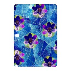 Purple Flowers Samsung Galaxy Tab Pro 10.1 Hardshell Case
