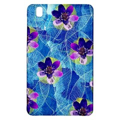 Purple Flowers Samsung Galaxy Tab Pro 8.4 Hardshell Case