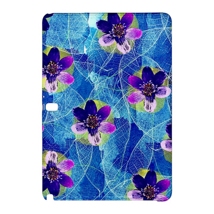 Purple Flowers Samsung Galaxy Tab Pro 12.2 Hardshell Case