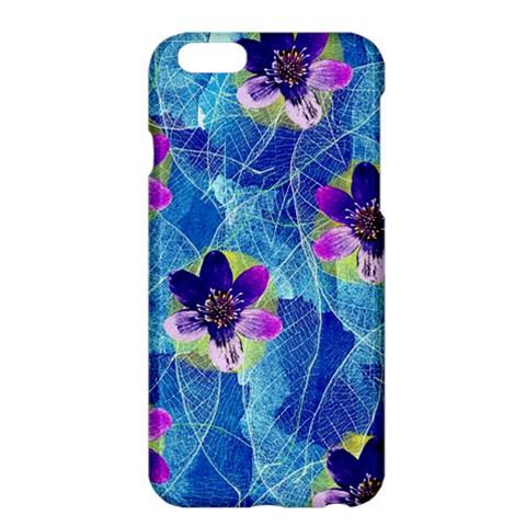 Purple Flowers Apple iPhone 6 Plus/6S Plus Hardshell Case