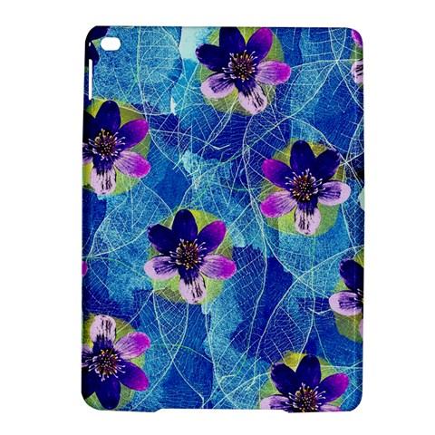 Purple Flowers iPad Air 2 Hardshell Cases
