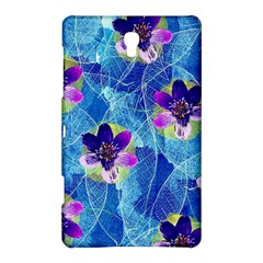 Purple Flowers Samsung Galaxy Tab S (8 4 ) Hardshell Case