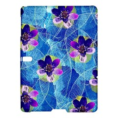 Purple Flowers Samsung Galaxy Tab S (10 5 ) Hardshell Case
