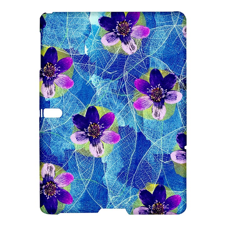 Purple Flowers Samsung Galaxy Tab S (10.5 ) Hardshell Case