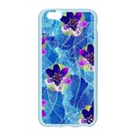 Purple Flowers Apple Seamless iPhone 6/6S Case (Color) Front
