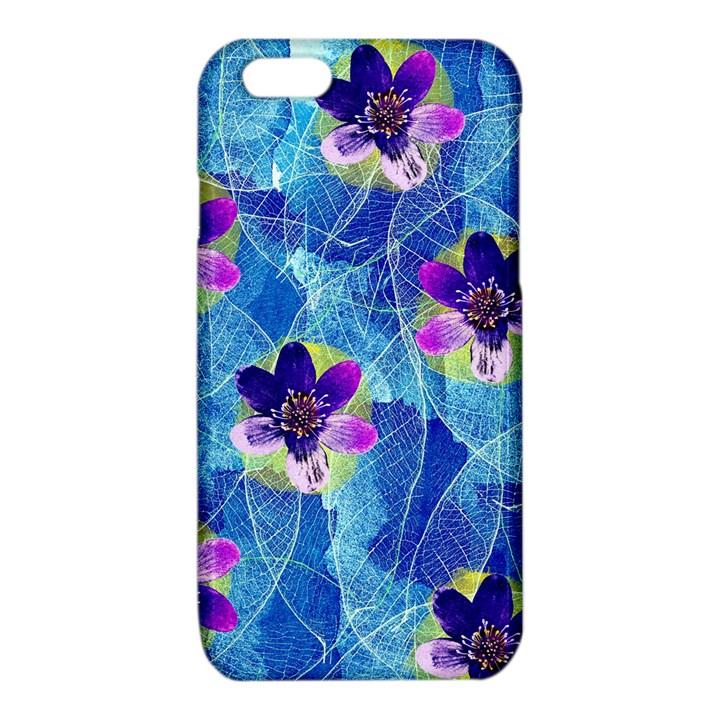 Purple Flowers iPhone 6/6S TPU Case