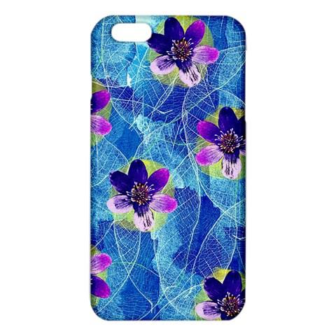 Purple Flowers iPhone 6 Plus/6S Plus TPU Case