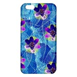 Purple Flowers iPhone 6 Plus/6S Plus TPU Case Front