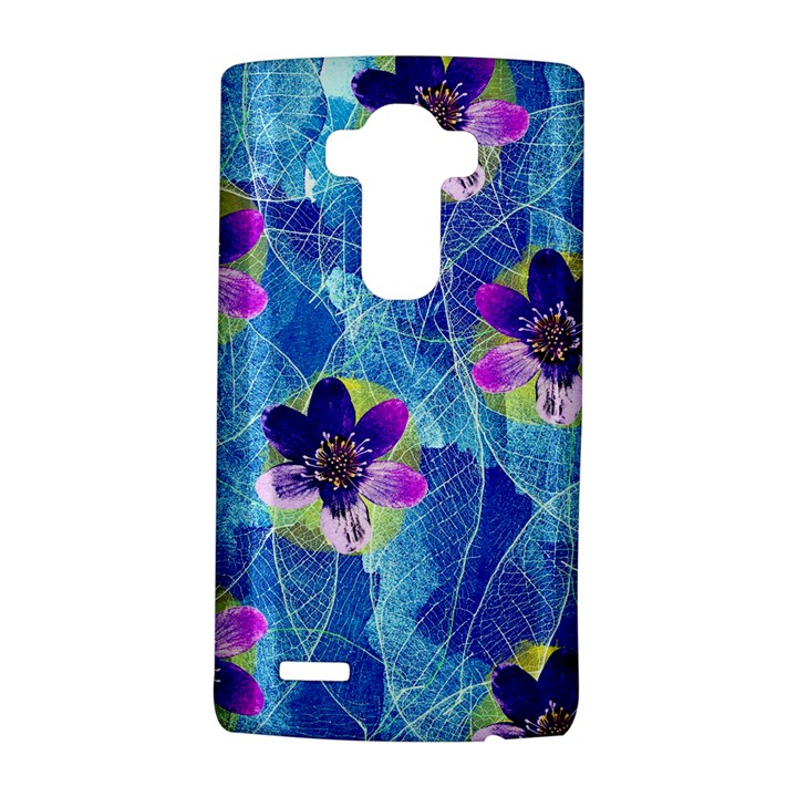 Purple Flowers LG G4 Hardshell Case
