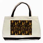 Christmas Background Basic Tote Bag (Two Sides) Front