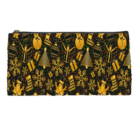 Christmas Background Pencil Cases