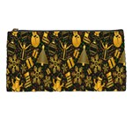 Christmas Background Pencil Cases Front