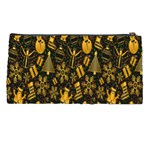Christmas Background Pencil Cases Back