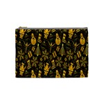 Christmas Background Cosmetic Bag (Medium)  Front