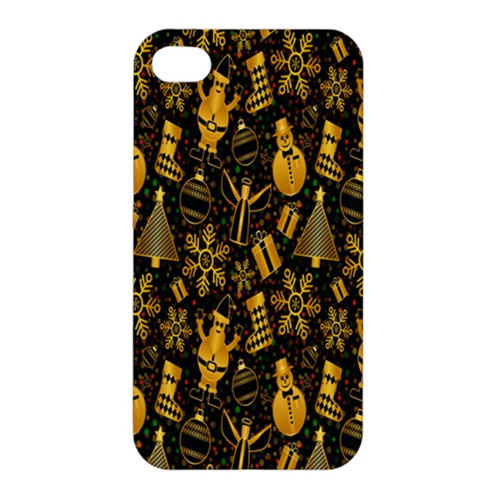 Christmas Background Apple iPhone 4/4S Hardshell Case