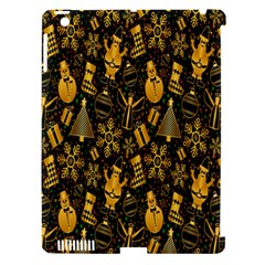 Christmas Background Apple iPad 3/4 Hardshell Case (Compatible with Smart Cover)