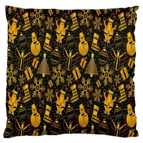 Christmas Background Large Cushion Case (One Side)