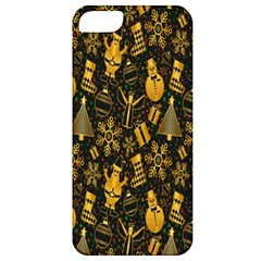 Christmas Background Apple iPhone 5 Classic Hardshell Case