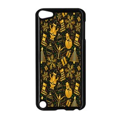 Christmas Background Apple iPod Touch 5 Case (Black)
