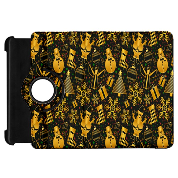 Christmas Background Kindle Fire HD Flip 360 Case