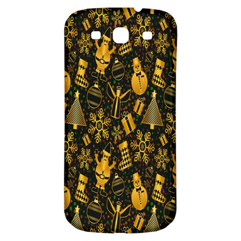 Christmas Background Samsung Galaxy S3 S III Classic Hardshell Back Case