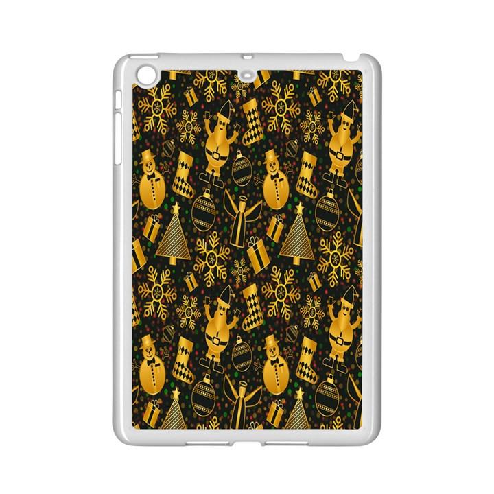 Christmas Background iPad Mini 2 Enamel Coated Cases