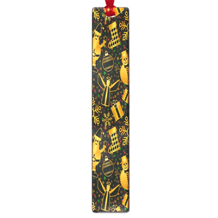 Christmas Background Large Book Marks