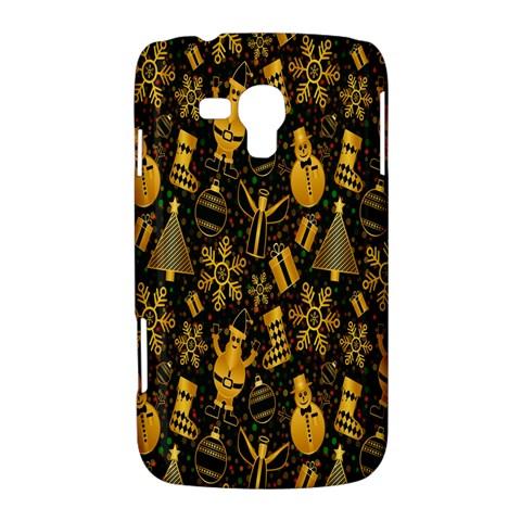 Christmas Background Samsung Galaxy Duos I8262 Hardshell Case