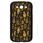 Christmas Background Samsung Galaxy Grand DUOS I9082 Case (Black) Front
