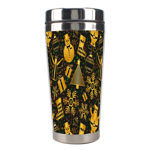 Christmas Background Stainless Steel Travel Tumblers