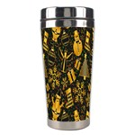 Christmas Background Stainless Steel Travel Tumblers Center