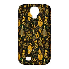 Christmas Background Samsung Galaxy S4 Classic Hardshell Case (PC+Silicone)