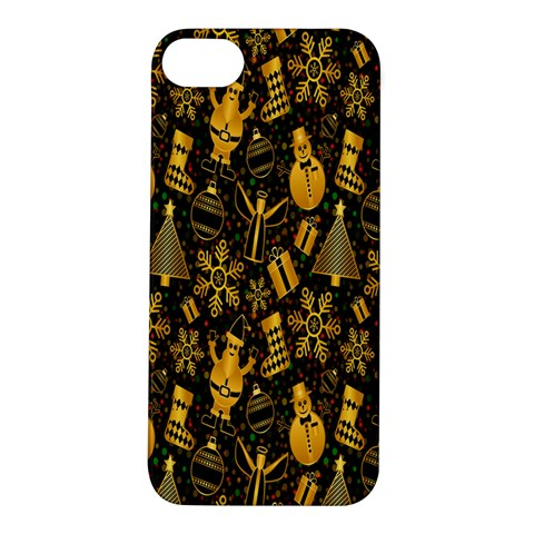 Christmas Background Apple iPhone 5S/ SE Hardshell Case