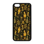 Christmas Background Apple iPhone 5C Seamless Case (Black) Front