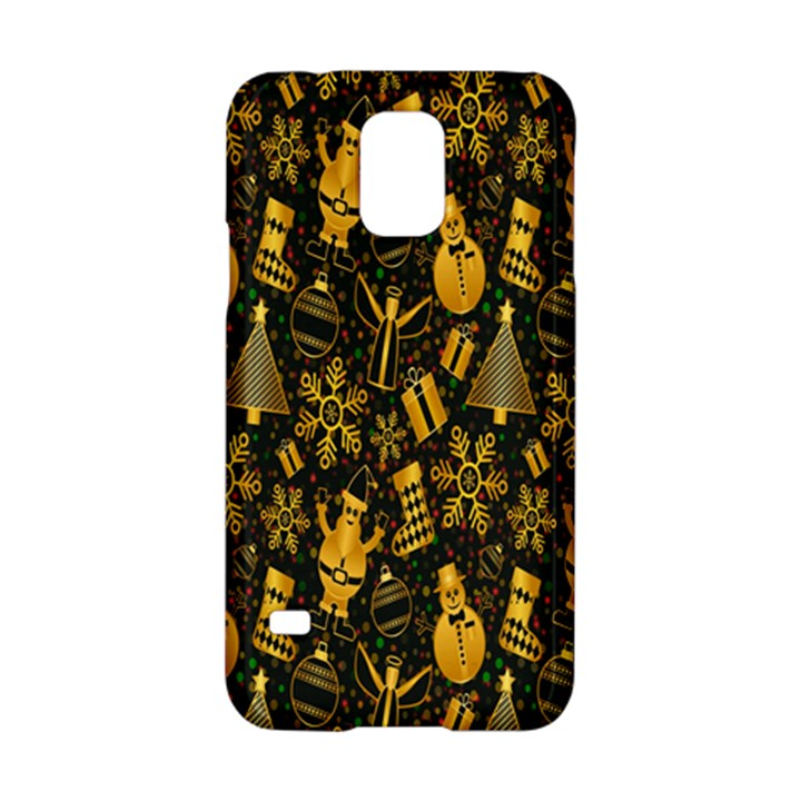 Christmas Background Samsung Galaxy S5 Hardshell Case