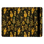 Christmas Background Samsung Galaxy Tab Pro 12.2  Flip Case Front