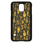 Christmas Background Samsung Galaxy S5 Case (Black) Front