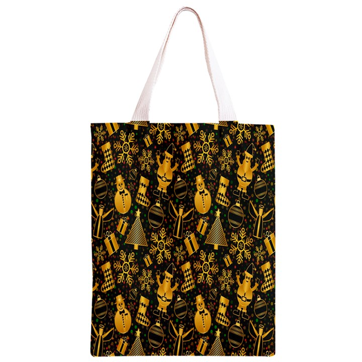 Christmas Background Classic Light Tote Bag