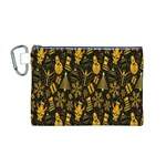Christmas Background Canvas Cosmetic Bag (M) Front