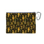 Christmas Background Canvas Cosmetic Bag (M) Back