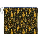 Christmas Background Canvas Cosmetic Bag (XXXL) Front
