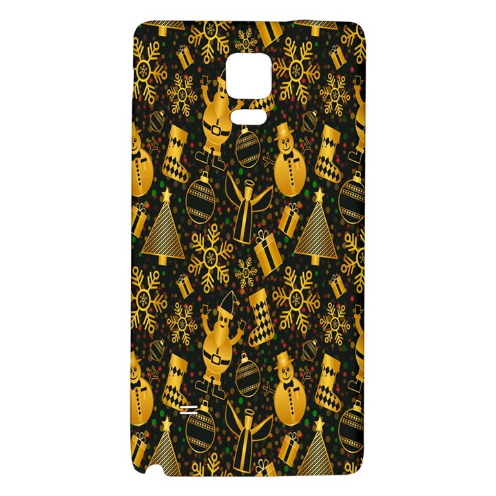 Christmas Background Galaxy Note 4 Back Case