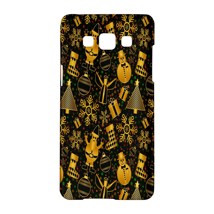Christmas Background Samsung Galaxy A5 Hardshell Case