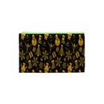 Christmas Background Cosmetic Bag (XS) Front