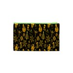 Christmas Background Cosmetic Bag (XS) Back