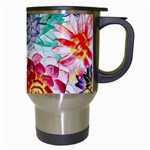 Colorful Succulents Travel Mugs (White) Right