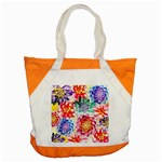 Colorful Succulents Accent Tote Bag Front