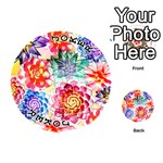 Colorful Succulents Playing Cards 54 (Round)  Front - Joker1