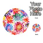 Colorful Succulents Playing Cards 54 (Round)  Front - Joker2