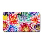 Colorful Succulents Medium Bar Mats 16 x8.5 Bar Mat - 1